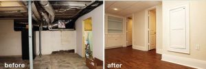 basement renovation vaughan